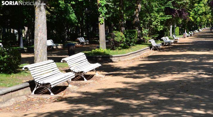 Las llaves fueron sustraídas en el parque de la Dehesa. /SN