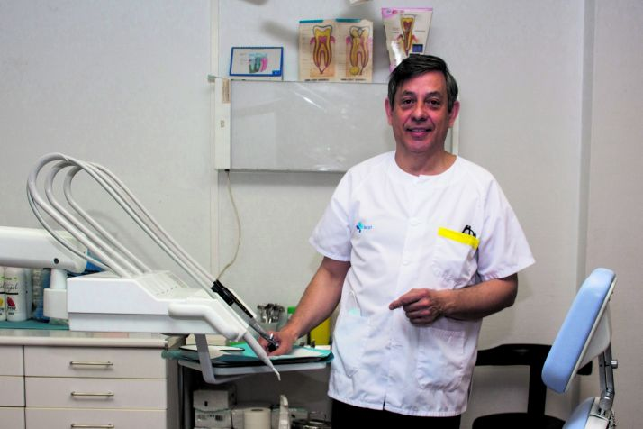 Camilo Sáinz, presidente del Colegio de Dentistas de Soria (CODE).