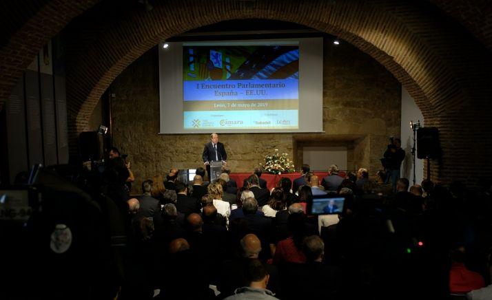 Una imagen del encuentro en León. /Jta.