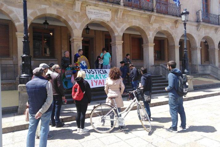 Foto 1 - Soria en Común se suma a Juventud Soriana por el Clima en su cierre de campaña