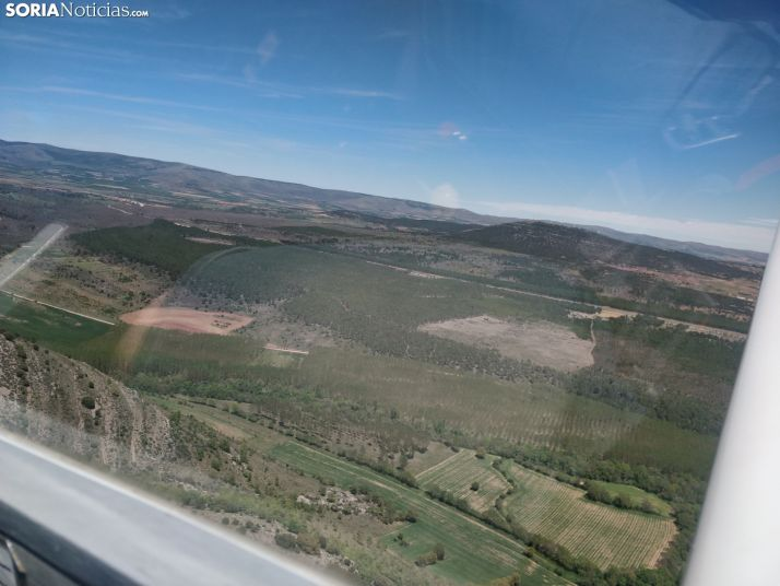 Soria desde el aire. Soria Noticias