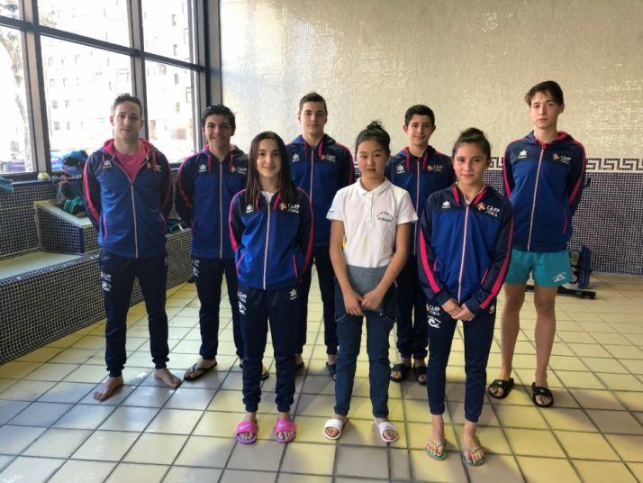 Foto 1 - Excelente participación del Natación Soriano en Huesca