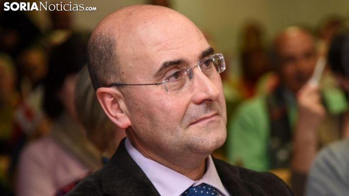 Jesús Manuel Alonso, candidato socialista a la alcaldía de Ágreda. /SN