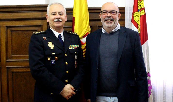 Luis Gibert (izda.) y Miguel Latorre.