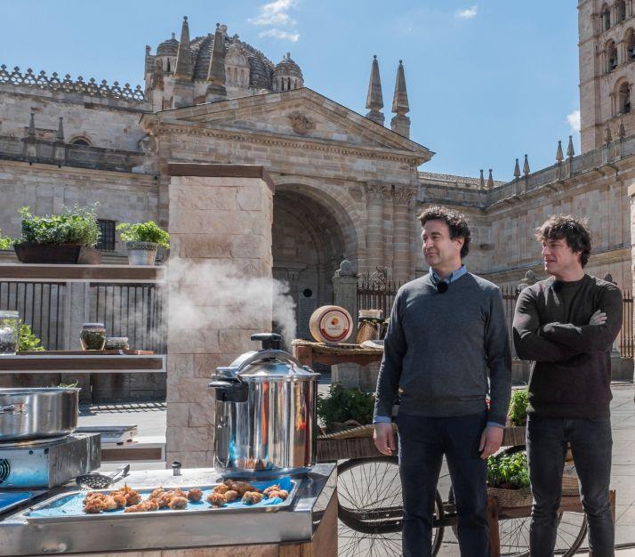 Foto 1 - Las cocinas de MasterChef viajan a Zamora de la mano de los productos Tierra de Sabor