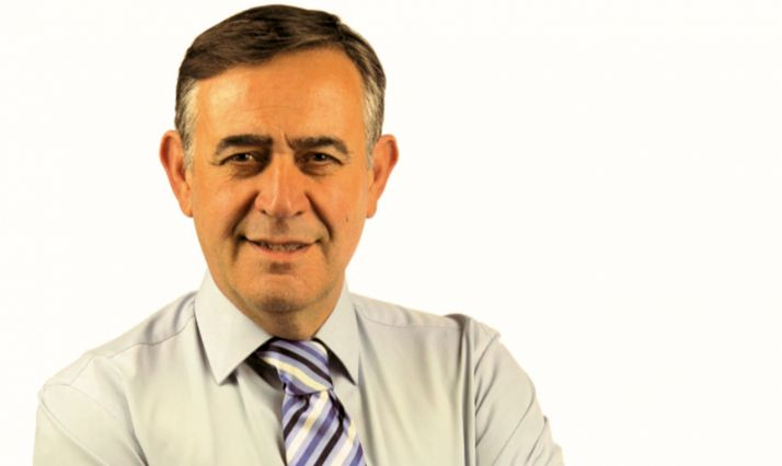 Antonio Pardo, cabeza de lista de la PPSO al Consistorio burgense.