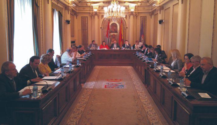 Pleno de la Diputación de la pasada legislatura
