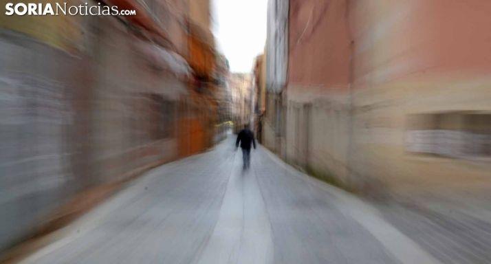 Una imagen, distorsionada, de la calle Zapatería. /SN