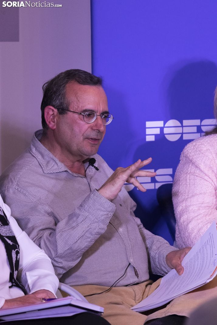 Debate a la Alcaldía de Soria. /Jasmín Malvesado