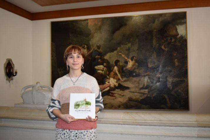 Foto 1 - La Diputación de Soria edita 'La abubilla numantina', de Elena Díaz-Roncero
