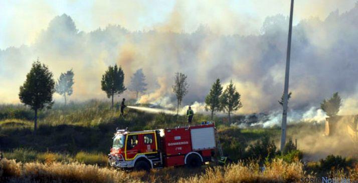 Foto 1 - Activado el peligro medio de incendios forestales en toda la Comunidad