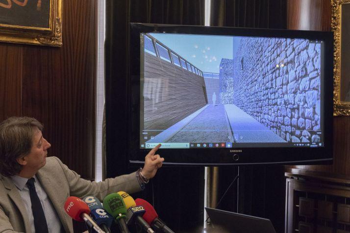 Foto 1 - 1.300.000€ para recuperar un nuevo tramo de la muralla