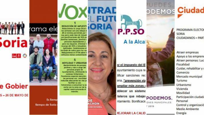 ¡Aquí están! Los 7 programas de los 7 candidatos para la alcaldía de Soria
