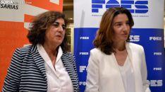 Elena Molinero (izda.) y María Angeles Fernández. /SN