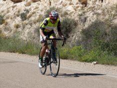 Foto 3 - El equipo ciclista E.Leclerc Soria-Seguros Adolfo Rejas rueda en la palentina Cevico de la Torre