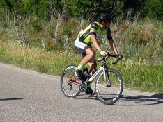 Foto 4 - El equipo ciclista E.Leclerc Soria-Seguros Adolfo Rejas rueda en la palentina Cevico de la Torre