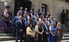 Una imagen de la jornada en el Palacio Provincial. /SN