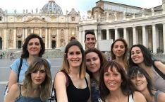 Docentes participantes del Erasmus + 'CrEA'. /Jta.
