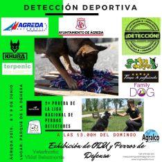 Cartel de la Copa de Perros Detectores.