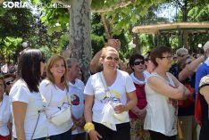 Homenaje de la Asociación de Jurados de Cuadrillas a los autores de las sanjuneras. /SN