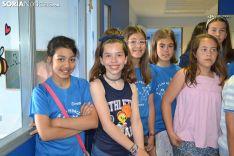 Alumnos de las Pedrizas en el Santa Bárbara.