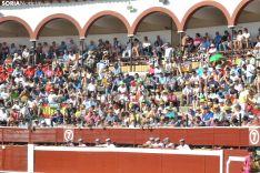 Una imagen de los rejones de este Miércoles El Pregón. /SN