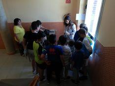 Foto 4 - 111 alumnos descubren la FP del Pico Frentes donde se aprende haciendo