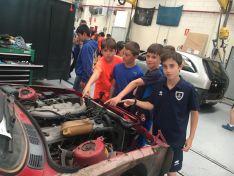 111 alumnos descubren la FP del Pico Frentes donde se aprende haciendo