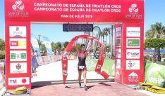 El soriano en su participación en el campeonato celebrado en la localidad de Almería.