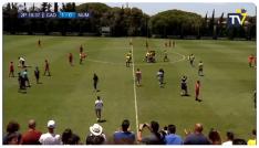 Imagen de la vuelta de la Semifinales de Ascenso a Segunda B. /C.C.F.