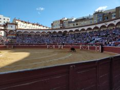 Plaza de toros en la capital de Soria. Tauroemocion
