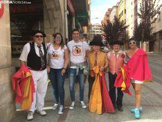 Salida de la Comitiva Oficial de Soria.