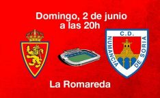 Zaragoza-Numancia, cuadragésimo primera jornada en Segunda. CD Numancia
