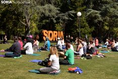 Día Mundial del Yoga en Soria.