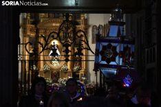 Una de las imágenes del Rosario de Cristal. /SN