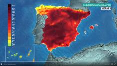 Previsión del tiempo de TVE.