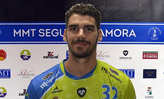Adrián Prieto, una incorporación para el BM Soria.