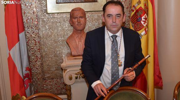 Serrano, ya como presidente de la Diputación. /SN