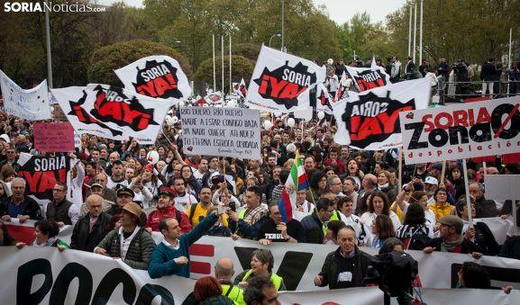 Una imagen de la manifestación del 31-M. /SN