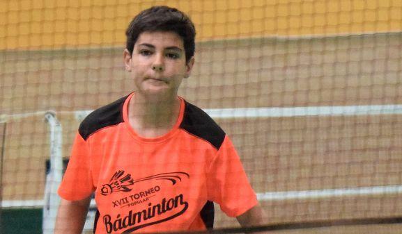 Jorge Ayllón, sub-13 del CBS-CS24.
