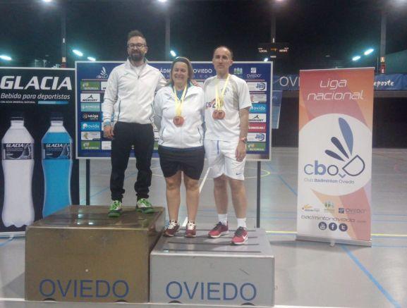 Dos triunfos para el bádminton soriano en Oviedo