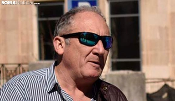 José Alberto Lorenzo, concejal electo de Soria en Común. /SN