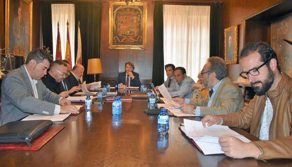 Imagen de la reunión del patronato este miércoles. /Ayto.