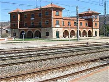 Estación de tren de Torralba.