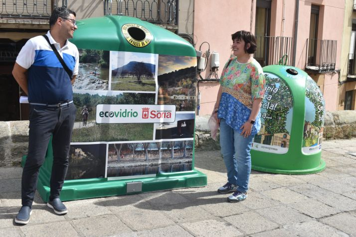 Foto 1 - El vidrio no será un problema: Soria recicla más en San Juan