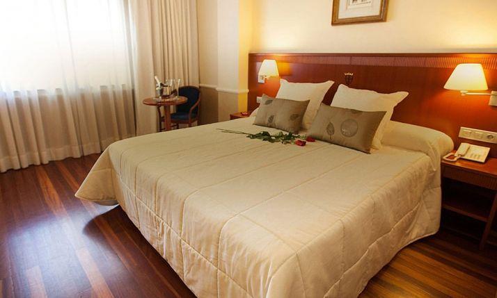 Una habitación de un hotel de la capital. /H. Alfonso VIII