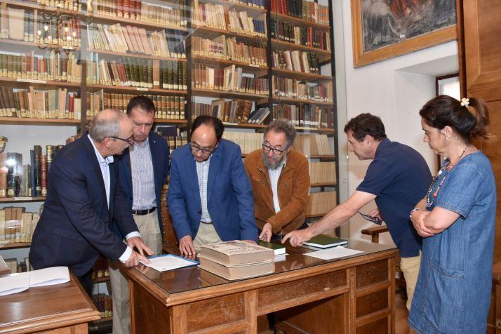 Foto 1 - Los fondos documentales del Instituto Machado podrán consultarse en el Archivo Histórico Provincial