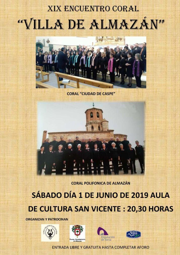Foto 1 - Encuentro coral este sábado en Almazán