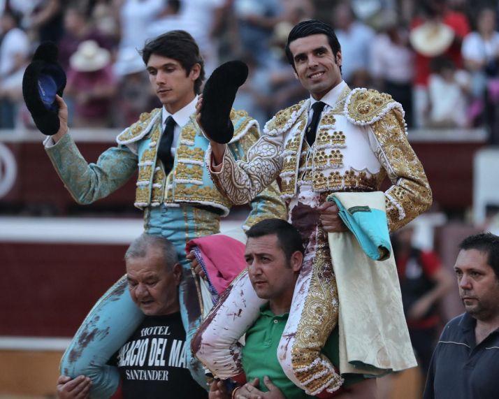 Castella y De Justo. /Tauroemoción
