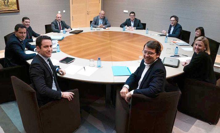 Reunión entre PP y Cs este miércoles.
